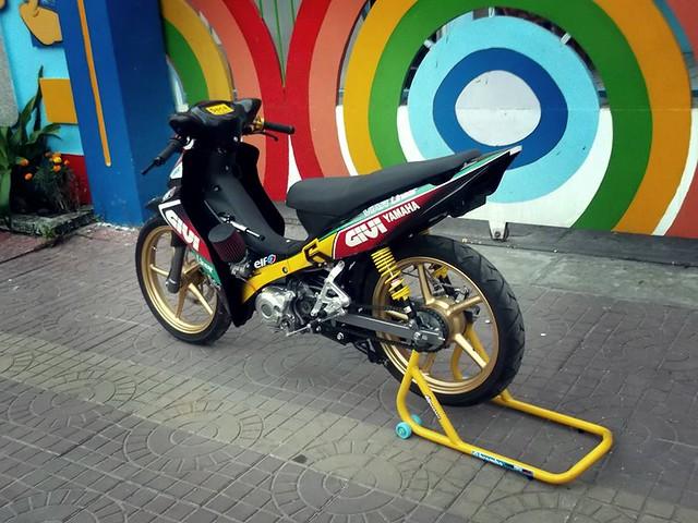 Jupiter độ phiên bản chạy sân Malaysia Cub Prix 7
