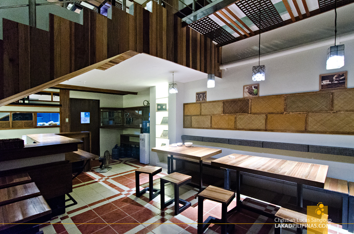 Dining Hall at Z Hostel in Makati