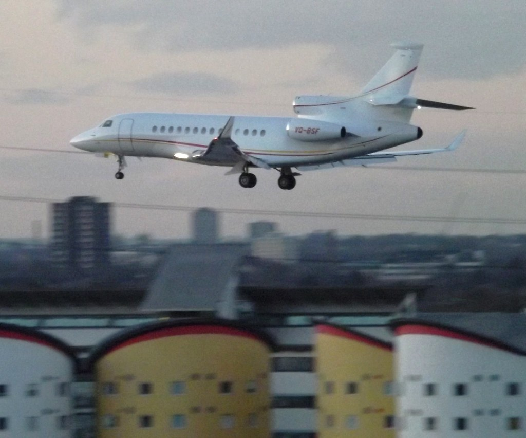 VQ-BSF - FA7X - Aeroflot