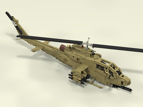 AH-1F Cobra front upper right