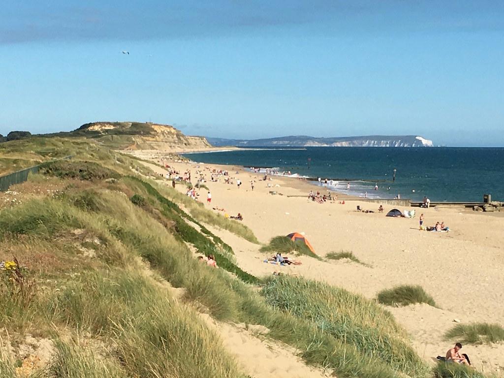 Hentistbury Head and the Isle of Wight Barton to Bournemouth walk