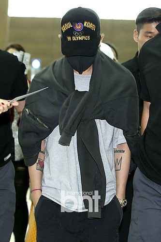 BIGBANG GDTOPDAE departure Seoul to Hangzhou Press 2015-08-25 113