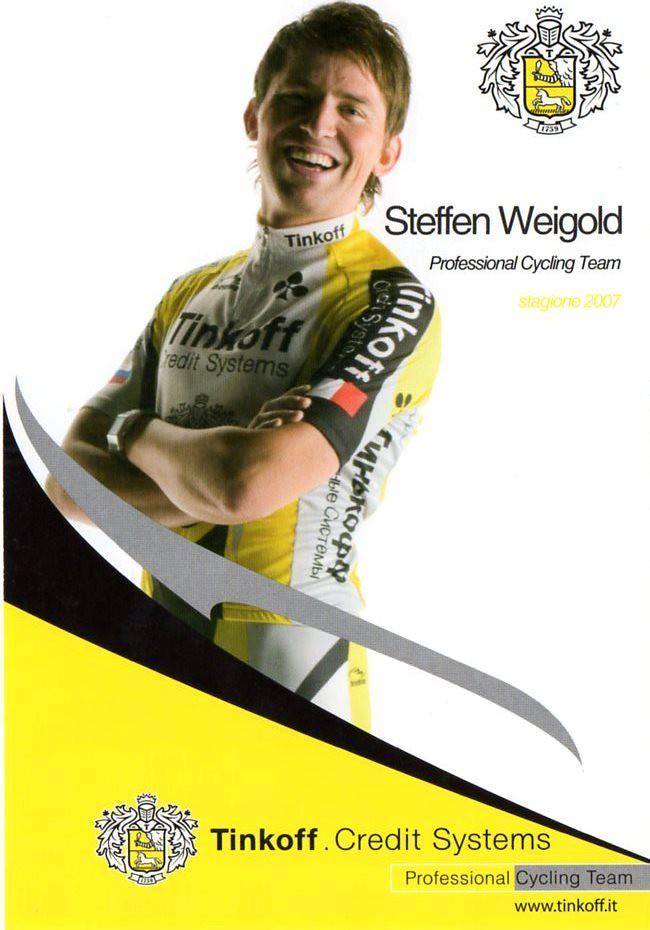 Steffen Weigold - Tinkoff 2007