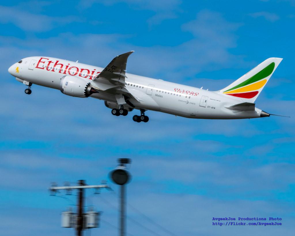 ET-ATK - B788 - Ethiopian Airlines