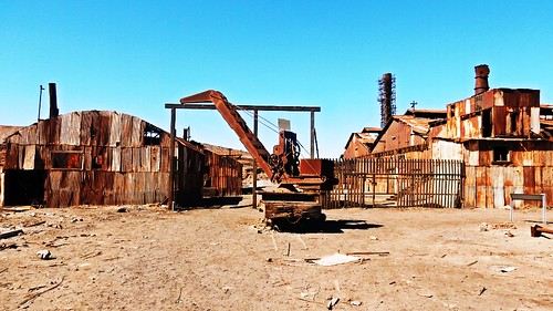 Humberstone saltpeter refinery - Chile
