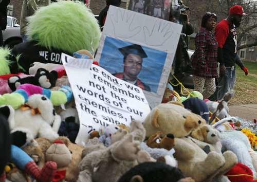 Memorial en Ferguson