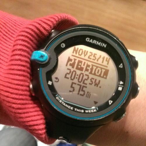 #garmin #swim 575m 20min