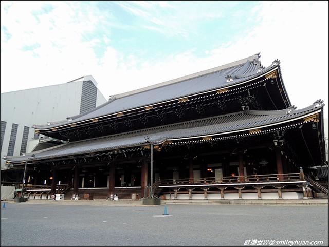 東本願寺。御影堂