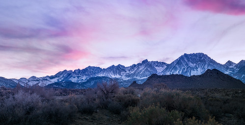 pink sunset sun mountain nature beautiful clouds dusk sierra land bishop buttermilk 168 us395 easternsierra