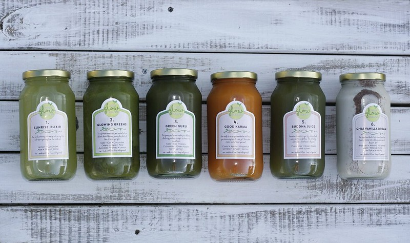 Pure Glow Cleanse one-day juice cleanse