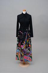 1970s Floor Length Dress