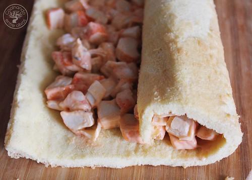 Brazo de gitano relleno de marisco www.cocinandoentreolivos.com (8)
