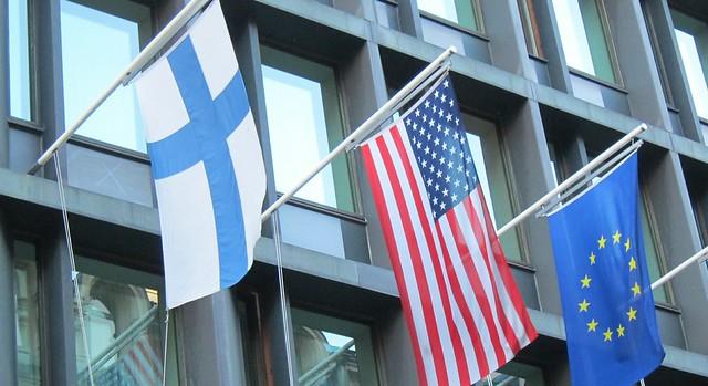 Suomi, USA, Eurooppa
