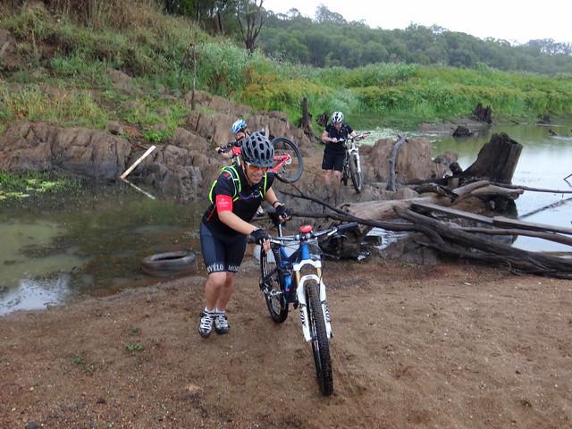 Crossing Kobble Creek