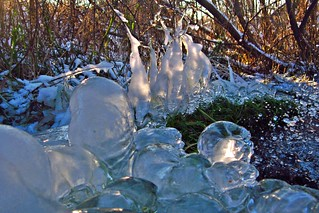 natural ice art
