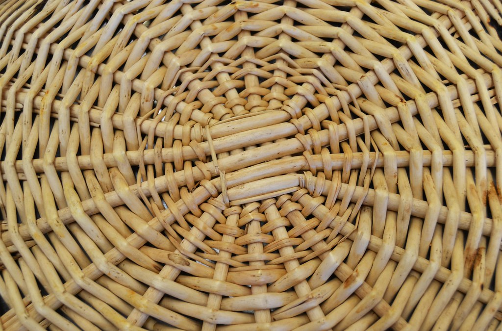 Unity | This is a photo of a wooden basket, that was weaved