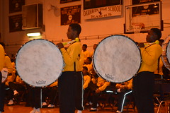 015 Whitehaven High School Bass Drummers