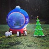 Lawn decorations #holiday #xmas
