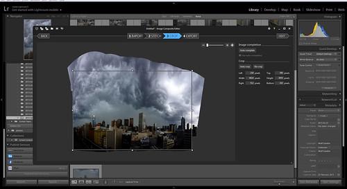 Storm Panorama - Stage 7