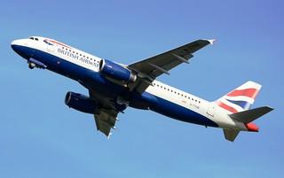 British Airways Airbus A320-232 G-TTOB