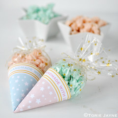 Star paper cone packaging tutorial