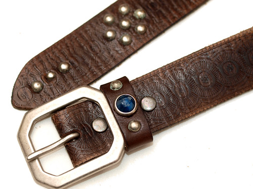 RRL / Leather Rasco Belt