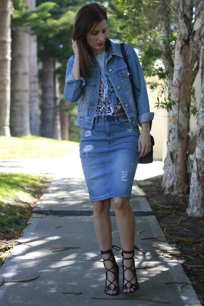 Double denim outfit from General Pants
