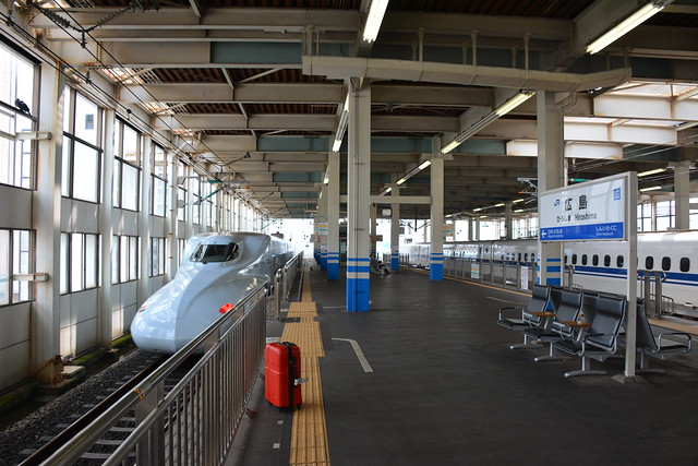広島駅新幹線のりば