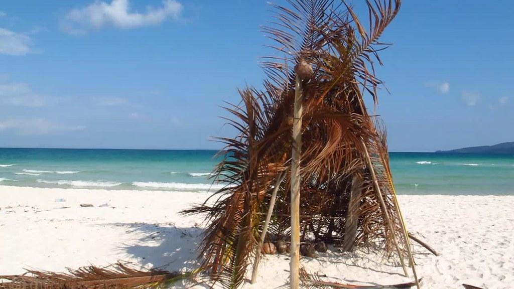 beach house white sand
