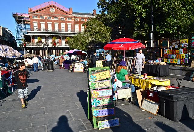 French Quarters - Jackson Square