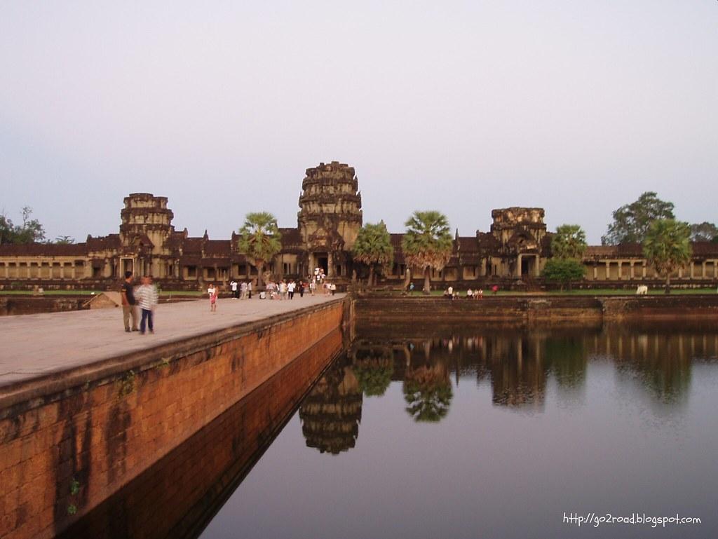 Плотина-мост в Ангкор Ват