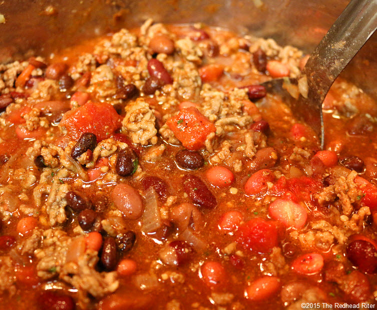 7 Best Simple Homemade Chili Recipe stir and simmer