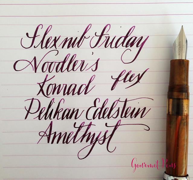 Ink Shot Review Pelikan Edelstein Amethyst @AppelboomLaren @Pelikan_Company (19)