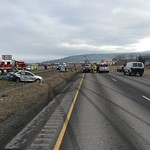 SVFD Responds to Multiple Collisions On I-90