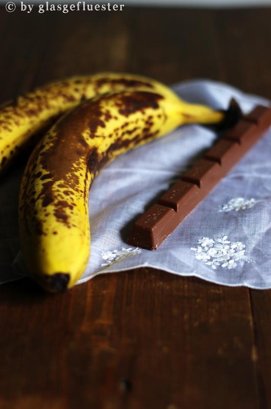 Bananen Nugat Brownies by Glasgeflüster 1 klein