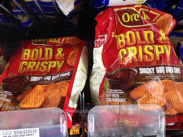 Ore-Ida Bold & Crispy Smoky BBQ Oven Chips