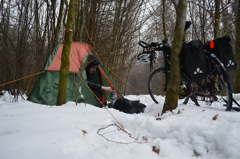 Germany #r2s #adventure #cycling #cycletouring #winter #snow