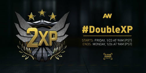COD: Advanced Warfare Double XP this Weekend