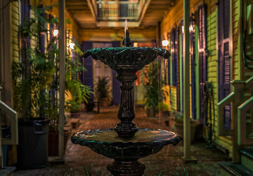 Fountain in the Courtyard by Geoff Livingston