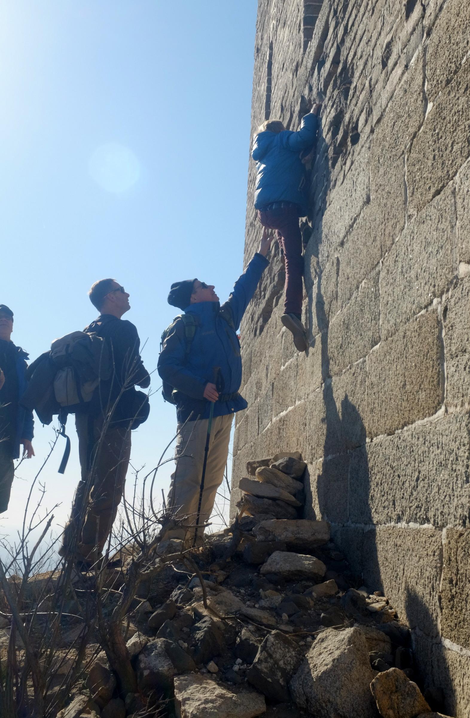 Mauerwanderung mit Dietmar