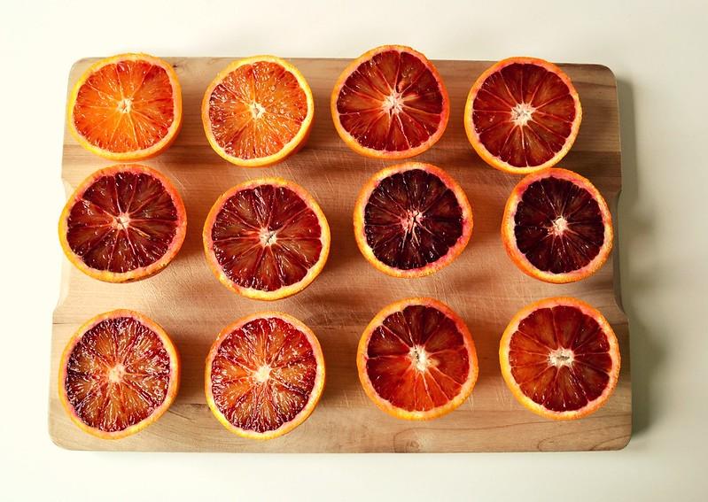 naranjas sangrientas