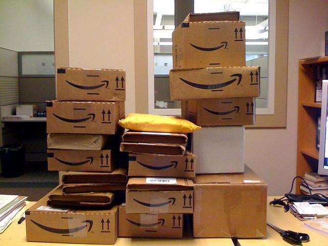 Amazon boxes