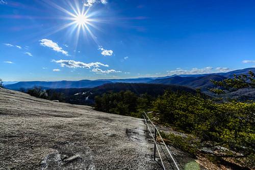 sky mountain nature clouds landscape unitedstates path january northcarolina stonemountain blueridgemountains 2015 traphill