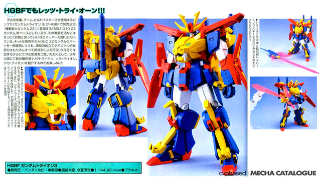 HGBF Gundam Tryon 3
