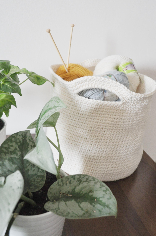 crochet basket vintage peony (1)