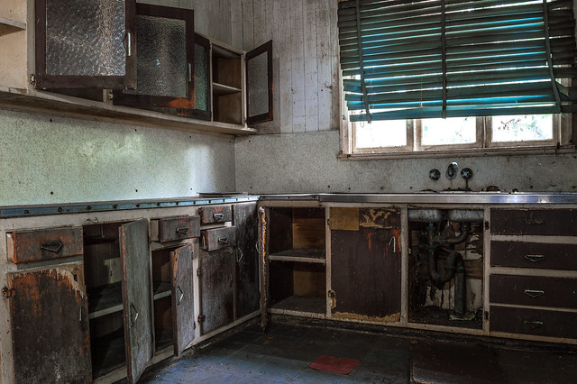 Worn Out Kitchen The Kitchen Of The Catnap Abando Was