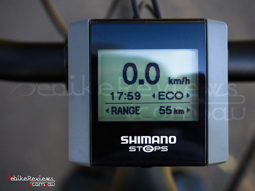 """Gepida Reptila equipped with Shimano STEPS • <a style=""""font-size:0.8em;"""" href=""""http://www.flickr.com/photos/ebikereviews/16530342347/"""" target=""""_blank"""">View on Flickr</a>"""