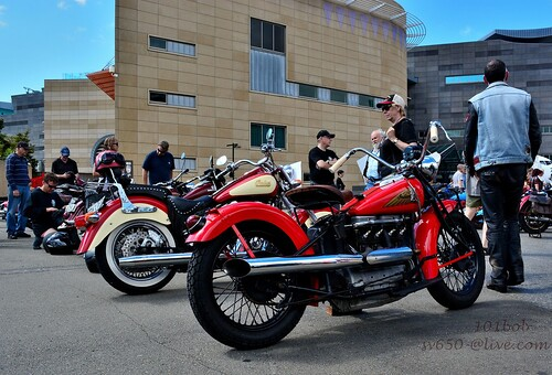 Indian four cylinder motorcycle