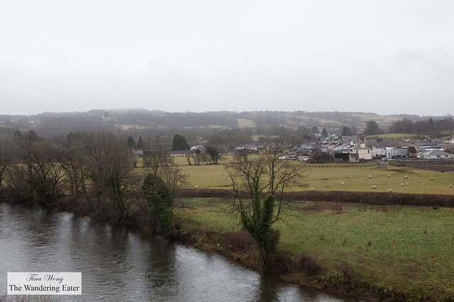 Edge of town of Llandeilo, Wales, United Kingdom