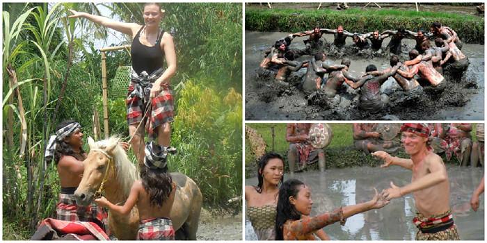 31-mud fight via Mepantigan Bali